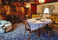Tyddyn Mawr Guesthouse's luxurious breakfast room